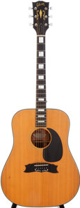 Musical Instruments:Acoustic Guitars, 1969 Gibson Heritage Natural Acoustic Guitar, Serial # 626650....