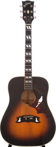 Musical Instruments:Acoustic Guitars, 1980 Gibson Dove Dark Sunburst Acoustic Guitar, Serial #80740064....