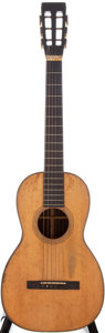 Musical Instruments:Acoustic Guitars, Mid-1800s Martin Size 1 Natural Acoustic Guitar ...