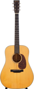 Musical Instruments:Acoustic Guitars, 1938 Martin D-18 Natural Acoustic Guitar, Serial # 70134....