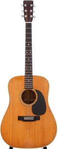 Musical Instruments:Acoustic Guitars, 1967 Martin D-28 Natural Acoustic Guitar, Serial # 226554....