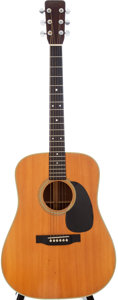 Musical Instruments:Acoustic Guitars, 1969 Martin D-28 Natural Acoustic Guitar, Serial # 246620....