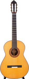Musical Instruments:Acoustic Guitars, 1985 Michael Cone Natural Classical Acoustic Guitar, Serial # 77....