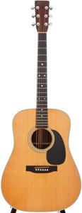 Musical Instruments:Acoustic Guitars, 1976 Martin D-28 Natural Acoustic Guitar, Serial # 385407....