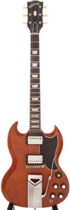 Musical Instruments:Electric Guitars, 1961 Gibson SG Cherry Electric Guitar, Serial # 15653. ...