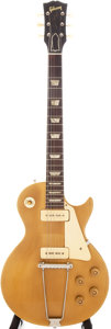 Musical Instruments:Electric Guitars, 1954 Gibson Les Paul Standard Gold Solid Body Electric Guitar, Serial # 43477. ...