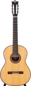 Musical Instruments:Acoustic Guitars, 2000 Ignacio M. Rozas 1A Natural Classical Acoustic Guitar....