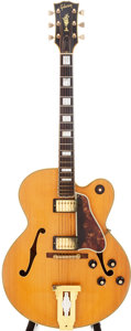 Musical Instruments:Electric Guitars, 1968 Gibson L-5CESN Natural Archtop Electric Guitar, Serial #919329. ...