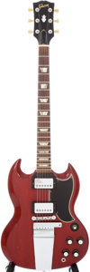 Musical Instruments:Electric Guitars, 1965 Gibson SG Standard Cherry Electric Guitar, Serial # 513452....