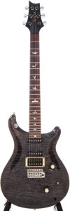 Musical Instruments:Electric Guitars, 1990 Paul Reed Smith Custom HSS Ebonized Solid Body ElectricGuitar, Serial # 0 9679. ...