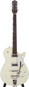 Musical Instruments:Electric Guitars, 1955 Gretsch Sparkle Jet Silver Electric Guitar, Serial # 17931....