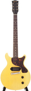 Musical Instruments:Electric Guitars, 1959 Gibson Les Paul Junior TV Yellow Electric Guitar, Serial #932686....