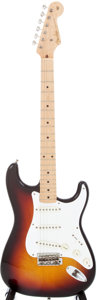 Musical Instruments:Electric Guitars, 1958 Fender Stratocaster Sunburst Electric Guitar, Serial # 28541....