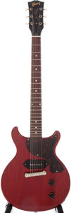 Musical Instruments:Electric Guitars, 1959 Gibson Les Paul Jr. Cherry Electric Guitar, Serial #933728....