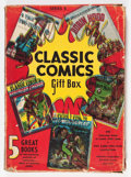 Memorabilia:Comic-Related, Classic Comics Series B Gift Box (Gilberton Corp., 1943)....