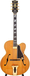 Musical Instruments:Electric Guitars, 1963 Gibson Johnny Smith Natural Semi-Hollow Electric Guitar,Serial # 62401....