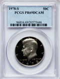 Proof Kennedy Half Dollars: , 1978-S 50C PR69 Deep Cameo PCGS. PCGS Population (6424/163). NGCCensus: (836/27). Numismedia Wsl. Price for problem free ...