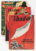 Pulps:Detective, Shadow Box Lot (Street & Smith, 1943-48) Condition: AverageVG/FN....