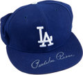 Baseball Collectibles:Hats, Pee Wee Reese Signed Los Angeles Dodgers Cap....