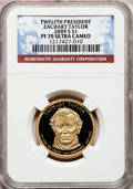 Proof Presidential Dollars, 2009-S $1 Zachary Taylor PR70 Ultra Cameo NGC. NGC Census: (0).PCGS Population (227). Numismedia Wsl. Price for problem f...