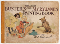 Buster Brown #1907 ...And Mary Jane's Painting Book (First Series (Frederick A. Stokes Co., 1907) Condition: GD+