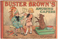 Platinum Age (1897-1937):Miscellaneous, Buster Brown #1908 Amusing Capers (Cupples & Leon, 1908)Condition: VG....