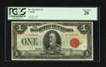 Canadian Currency: , DC-25g $1 1923. ...