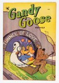 "Golden Age (1938-1955):Funny Animal, Gandy Goose Comics #4 Davis Crippen (""D"" Copy) pedigree (St. John,1953) Condition: VF-...."