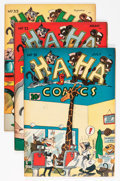 "Golden Age (1938-1955):Funny Animal, Ha Ha Comics #31-34 Group - Davis Crippen (""D"" Copy) pedigree (ACG,1946) Condition: Average VF.... (Total: 4 Comic Books)"