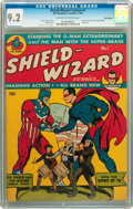 Golden Age (1938-1955):Superhero, Shield-Wizard Comics #1 Billy Wright pedigree (MLJ, 1940) CGC NM- 9.2 Off-white to white pages....