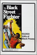 "Movie Posters:Blaxploitation, The Black Street Fighter (New Line, 1976). One Sheet (27"" X 41""). Blaxploitation.. ..."