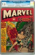Golden Age (1938-1955):Superhero, Marvel Mystery Comics #9 Billy Wright pedigree (Timely, 1940) CGC VF- 7.5 Off-white pages....