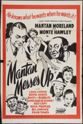 "Movie Posters:Black Films, Mantan Messes Up (Toddy Pictures, R-1949). One Sheet (28"" X 41.5"").Black Films.. ..."