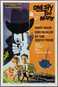 "Movie Posters:Action, One Spy Too Many (MGM, 1966). International One Sheet (27"" X 41""). Action.. ..."