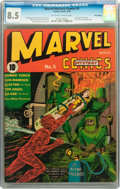 Golden Age (1938-1955):Superhero, Marvel Mystery Comics #5 Billy Wright pedigree (Timely, 1940) CGC VF+ 8.5 Off-white to white pages....