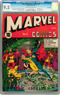 Golden Age (1938-1955):Superhero, Marvel Mystery Comics #6 Billy Wright pedigree (Timely, 1940) CGCNM- 9.2 Off-white to white pages....