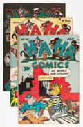 "Golden Age (1938-1955):Funny Animal, Ha Ha Comics #43-45 Group - Davis Crippen (""D"" Copy) pedigree (ACG,1947).... (Total: 3 Comic Books)"