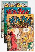 "Golden Age (1938-1955):Funny Animal, Ha Ha Comics #46-48 Group - Davis Crippen (""D"" Copy) pedigree (ACG,1947).... (Total: 3 Comic Books)"