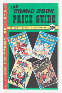 1973 Softcover Overstreet Comic Book Price Guide (Overstreet, 1973) Condition: NM