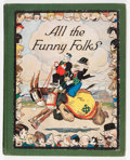 Platinum Age (1897-1937):Miscellaneous, All the Funny Folks #nn (World Press Today, Inc., 1926) Condition: VG+....
