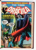 Bronze Age (1970-1979):Horror, Tomb of Dracula #17-32 Bound Volume (Marvel, 1974-75)....