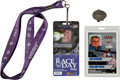 Miscellaneous Collectibles:General, 2005 Indianapolis 500 Press Pin and Media Pass....