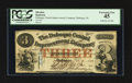 Obsoletes By State:Iowa, Dubuque, IA- Dubuque Central Improvement Company $3 Feb. 10, 1858....