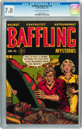 Golden Age (1938-1955):Horror, Baffling Mysteries #13 (Ace, 1953) CGC FN/VF 7.0 Cream to off-whitepages....