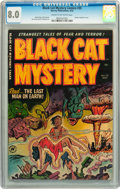 Golden Age (1938-1955):Horror, Black Cat Mystery #35 (Harvey, 1952) CGC VF 8.0 Cream to off-whitepages....