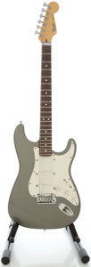 Musical Instruments:Electric Guitars, 1989 Fender Stratocaster USA Plus Silver Solid Body Electric Guitar, Serial #E932013....