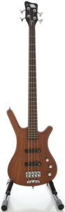 Musical Instruments:Bass Guitars, Circa 2007 Warwick Corvette Model Natural Electric Bass Guitar, Serial #J137979 07....