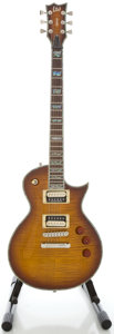 Musical Instruments:Electric Guitars, LTD EC-1000 Deluxe Sunburst Solid Body Electric Guitar, Serial#W10020284....
