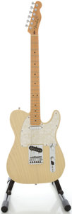 Musical Instruments:Electric Guitars, 2004 Fender Telecaster Blonde Solid Body Electric Guitar, Serial#CN96541....