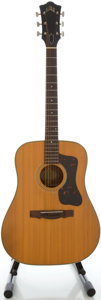 Musical Instruments:Acoustic Guitars, Circa 1965 Guild D-40 Natural Acoustic Guitar, Serial #40910....